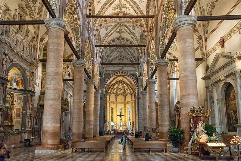 La meravigliosa Santa Anastasia a Verona