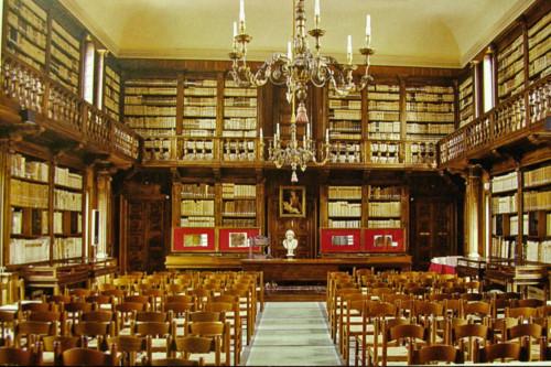 Biblioteca Capitolare, la sala principale